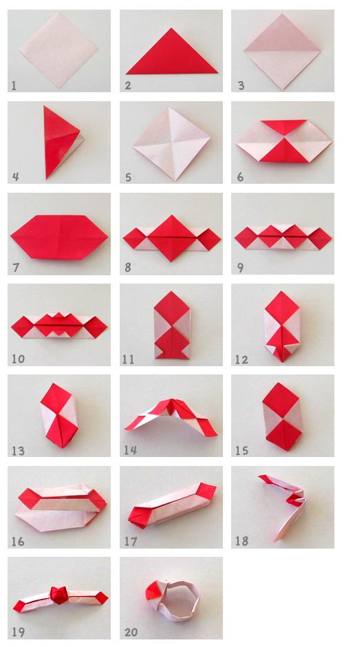 クリスマス 折り紙 指輪 折り紙 : divulgando.net